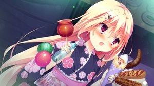 Rating: Safe Score: 81 Tags: animal apple carrot_lu_angora drink festival fish food game_cg japanese_clothes kanojo_ga_ore_ni_kureta_mono._ore_ga_kanojo_ni_ageru_mono. onomatope* shiratama yukata User: frankmelody