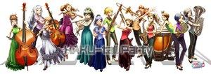 Rating: Safe Score: 53 Tags: akizuki_ritsuko amami_haruka drums flute futami_ami futami_mami ganaha_hibiki group hagiwara_yukiho higashiyama_hayato hoshii_miki idolmaster instrument kikuchi_makoto kisaragi_chihaya minase_iori miura_azusa shijou_takane takatsuki_yayoi twins violin User: FormX