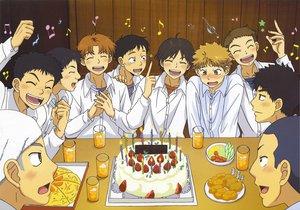 Rating: Safe Score: 12 Tags: abe_takaya all_male cake food hanai_azusa izumi_kousuke male mihashi_ren mizutani_fumiki nishihiro_shintarou ookiku_furikabutte sakaeguchi_yuuto suyama_shoji tajima_yuuichirou User: qashairy