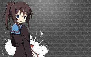 Rating: Safe Score: 79 Tags: blue_eyes blush brown_hair kyonko ponytail school_uniform suzumiya_haruhi_no_yuutsu User: shojoneko