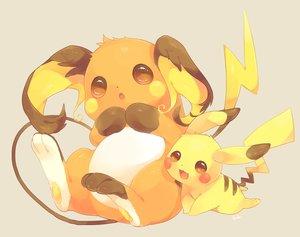 Rating: Safe Score: 25 Tags: fang nobody orange_eyes pikachu pokemon raichu tagme_(artist) tail User: BattlequeenYume