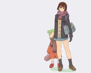 Rating: Safe Score: 15 Tags: ayase_fuuka azuma_kiyohiko koiwai_yotsuba white yotsubato! User: Oyashiro-sama