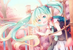 Rating: Safe Score: 24 Tags: hatsune_miku loli long_hair tagme_(artist) twintails vocaloid User: luckyluna