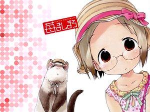 Rating: Safe Score: 3 Tags: animal ferret ichigo_mashimaro sakuragi_matsuri User: Oyashiro-sama