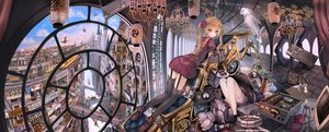 Rating: Safe Score: 164 Tags: animal bird blonde_hair blue_eyes book building city computer dualscreen fish flowers food garter_belt group industrial john_hathway jpeg_artifacts lolita_fashion long_hair original rose stockings thighhighs train translation_request twintails watermark User: Flandre93