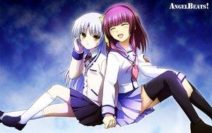 Rating: Safe Score: 64 Tags: 2girls angel_beats! nakamura_yuri tachibana_kanade User: pantu