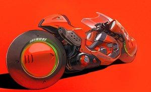 Rating: Safe Score: 39 Tags: afukuro akira motorcycle nobody red User: otaku_emmy