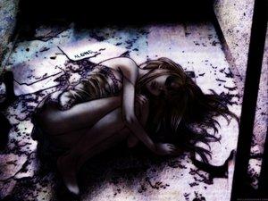 Rating: Safe Score: 44 Tags: barefoot blonde_hair dark dress gilgamesh_(anime) gothic long_hair madoka_kiyoko tagme_(artist) User: Oyashiro-sama