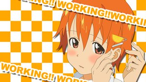 Rating: Safe Score: 18 Tags: close inami_mahiru orange_hair short_hair working!! User: pantu
