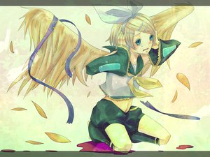 Rating: Safe Score: 27 Tags: kagamine_rin vocaloid wings User: 秀悟