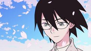 Rating: Safe Score: 6 Tags: cherry_blossoms close flowers itoshiki_nozomu sayonara_zetsubou_sensei sky vector User: grummi92