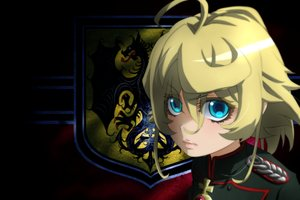 Rating: Safe Score: 20 Tags: aqua_eyes blonde_hair close cross genya67 military short_hair tanya_degurechaff uniform youjo_senki User: RyuZU