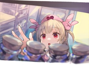 Rating: Safe Score: 78 Tags: blonde_hair close headdress loli long_hair natori_sana nurse red_eyes roll_okashi sana_channel twintails User: otaku_emmy