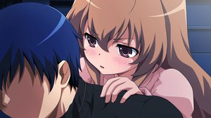 Rating: Safe Score: 17 Tags: aisaka_taiga jpeg_artifacts takasu_ryuuji toradora User: pantu