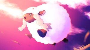 Rating: Safe Score: 10 Tags: aliasing animal close clouds higa-tsubasa pokemon polychromatic sheep sky sunset wooloo User: otaku_emmy