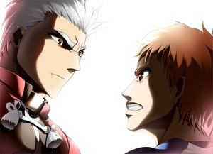 Rating: Safe Score: 6 Tags: all_male archer close emiya_shirou fate_(series) fate/stay_night male skyt2 User: HawthorneKitty