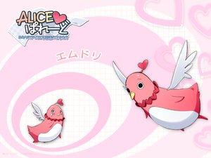 Rating: Safe Score: 3 Tags: alice_parade animal bird emudori itou_noiji tears unisonshift wings User: Oyashiro-sama