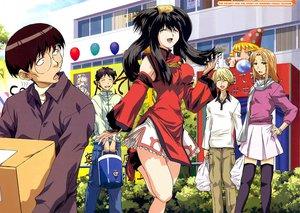 Rating: Safe Score: 29 Tags: cosplay festival genshiken group guilty_gear kasukabe_saki kousaka_makoto madarame_harunobu male ohno_kanako sasahara_kanji User: Oyashiro-sama