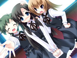 Rating: Safe Score: 16 Tags: blush game_cg harukazedori_ni_tomarigi_wo_2nd_story orihime_akari seifuku User: korokun