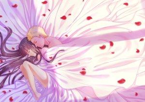 Rating: Safe Score: 6 Tags: bed black_hair blonde_hair haneru hyuuga_hinata long_hair male naruto nude petals sleeping uzumaki_naruto User: mattiasc02
