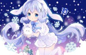 Rating: Safe Score: 29 Tags: aliasing dress gochuumon_wa_usagi_desu_ka? kafuu_chino loli long_hair snow thighhighs tippy_(gochiusa) tsukimi_(xiaohuasan) winter User: BattlequeenYume