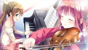 Rating: Safe Score: 39 Tags: amazakura_misaki ensemble_(company) game_cg male mizusawa_sayaka omoi_o_sasageru_otome_no_melody tagme_(artist) trap User: luckyluna