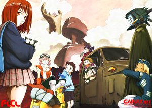 Rating: Safe Score: 32 Tags: flcl haruhara_haruko kimoto_tatsurou tagme User: Black_Rock_Shooter