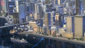Rating: Safe Score: 45 Tags: 3d arsenixc boat building city logo reflection scenic shining_nikki water watermark User: otaku_emmy