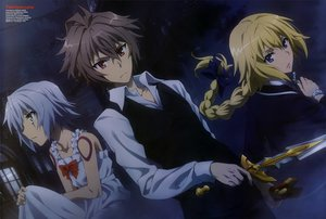 Rating: Safe Score: 31 Tags: blonde_hair blue_eyes bow braids brown_hair cross dress fate/apocrypha fate_(series) gray_hair hiroe_keisuke jack_the_ripper jeanne_d'arc_(fate) long_hair male ponytail red_eyes scan scarf short_hair sieg_(fate/apocrypha) sword tattoo watermark weapon User: RyuZU
