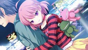 Rating: Safe Score: 116 Tags: fujikawa_runa game_cg hatsukoi_1/1 hug katagiri_yuuma male User: Maboroshi
