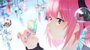 Rating: Safe Score: 64 Tags: aqua_eyes bubbles close go-toubun_no_hanayome nakano_nino pink_hair zhanzheng_zi User: BattlequeenYume