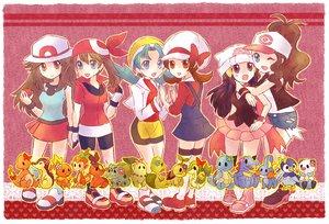 Rating: Safe Score: 52 Tags: haruka_(pokemon) hat hikari_(pokemon) kotone_(pokemon) kris_(pokemon) leaf_(pokemon) pokemon touko_(pokemon) User: HawthorneKitty