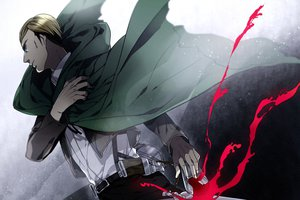 Rating: Safe Score: 40 Tags: irvin_smith kai28 shingeki_no_kyojin User: FormX