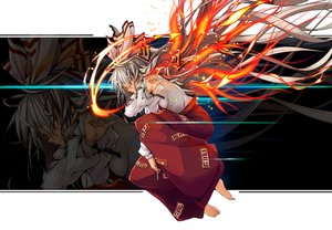 Rating: Safe Score: 37 Tags: fire fujiwara_no_mokou mage magic maru-pen touhou zoom_layer User: FormX