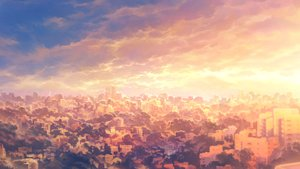 Rating: Safe Score: 45 Tags: building city clouds heriki_(trkj) landscape original polychromatic scenic sky sunset User: FormX