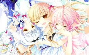 Rating: Safe Score: 114 Tags: animal_ears foxgirl hug lily_(w&l) loli sakurazawa_izumi sleeping tail touko wanko wanko_to_lily User: Wiresetc