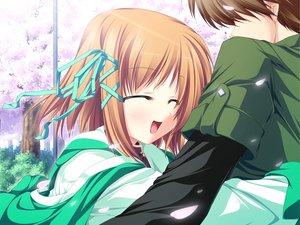 Rating: Safe Score: 9 Tags: blonde_hair game_cg koyuki_amagase magus_tale school_uniform short_hair tenmaso whirlpool User: Oyashiro-sama