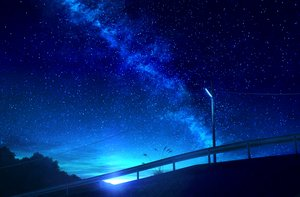 Rating: Safe Score: 76 Tags: mks nobody original scenic sky stars User: RyuZU