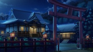 Rating: Safe Score: 137 Tags: building night nobody original scenic tonchan torii User: zoobezee