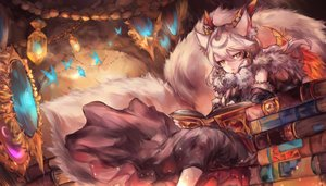 Rating: Safe Score: 78 Tags: ilmina_(p&d) mi_bait puzzle_&_dragons User: FormX