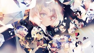 Rating: Safe Score: 32 Tags: anthropomorphism diamond_(houseki_no_kuni) houseki_no_kuni malu_(maluaya) User: FormX