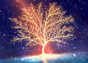 Rating: Safe Score: 18 Tags: bou_nin original polychromatic scenic tree User: mattiasc02