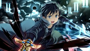 Rating: Safe Score: 223 Tags: blue_eyes kirigaya_kazuto sky sword sword_art_online tagme weapon yuuri_nayuta User: w7382001