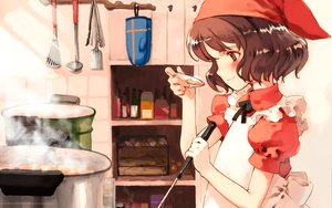Rating: Safe Score: 15 Tags: food littlewitch oyari_ashito quartett! User: Oyashiro-sama