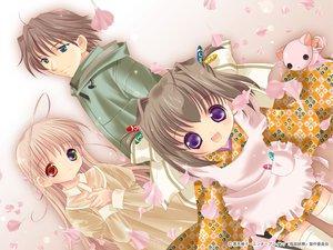 Rating: Safe Score: 0 Tags: bottle_fairy kusachiho oboro petals sensei-san tama-chan tokumi_yuiko User: Oyashiro-sama
