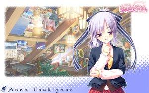 Rating: Safe Score: 26 Tags: gray_hair ribbons school_uniform sugirly_wish tsukigase_anna User: Wiresetc