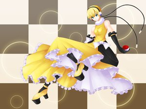 Rating: Safe Score: 29 Tags: blonde_hair dress headphones kamitsure pokemon User: HawthorneKitty