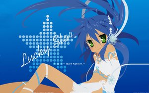 Rating: Safe Score: 138 Tags: blue_hair green_eyes izumi_konata lucky_star vector User: 秀悟