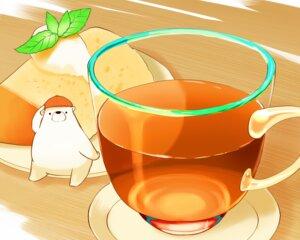 Rating: Safe Score: 7 Tags: animal bear cake chai_(artist) cropped drink food hat leaves nobody original polychromatic signed User: otaku_emmy