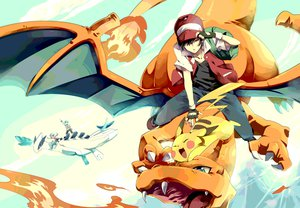 Rating: Safe Score: 132 Tags: 84k charizard hibiki kotone_(pokemon) lugia pikachu pokemon red_(pokemon) User: FormX